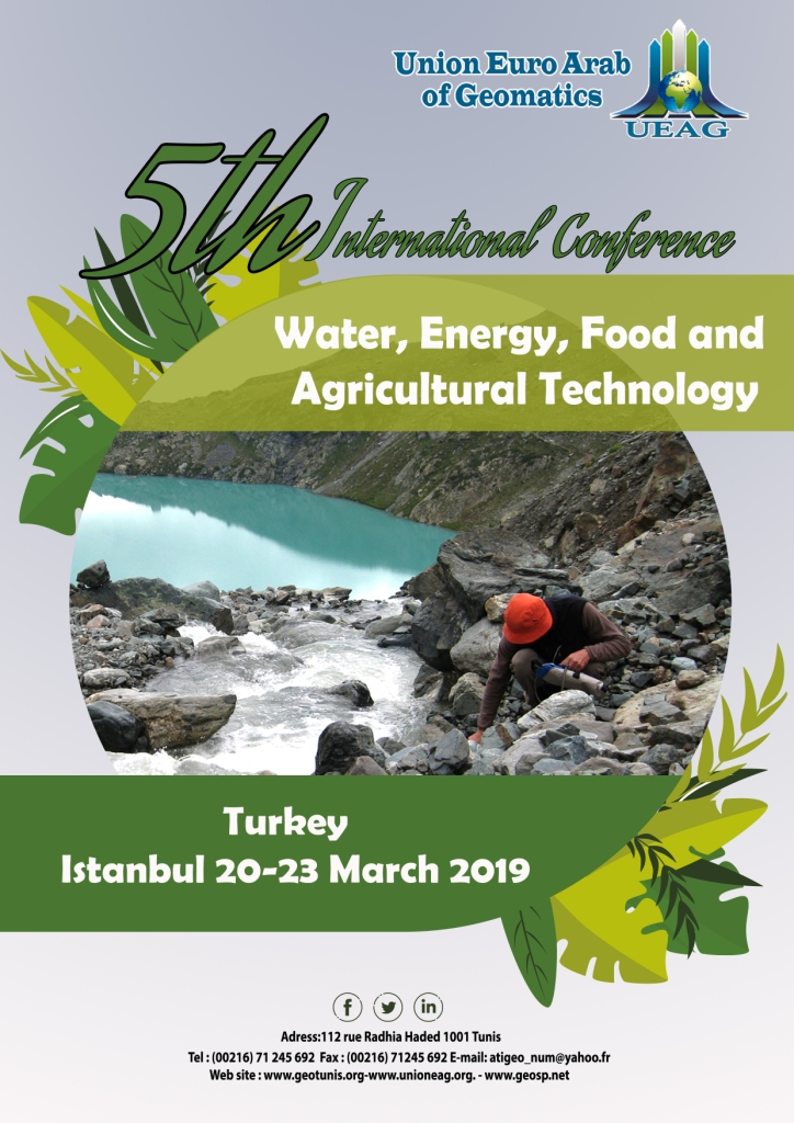 5th International Conference on Water : UEAG